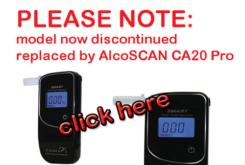 Click Here for the new CA20 Pro Breathalyzer
